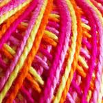 Anne Matizado Fuschia, Naranja, Amarillo y Rosa