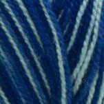 Perla Matizado Azul Blanco